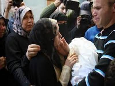 غزہ پرصہیونی جارحیت کا سلسلہ جاری, انیس بچوں اورخواتین سمیت شہید فلسطینیوں کی تعداد چھیاسی ہوگئی۔