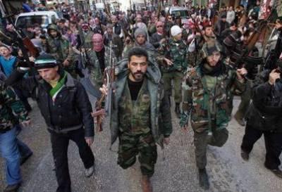 شام میں حکومتی فورسز اورباغیوں کےدرمیان دمشق کے اطراف شدید لڑائی کا سلسلہ جاری ہے۔