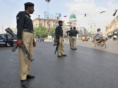 نو اور دس محرم کےجلوسوں کی حفاظت کیلئےکراچی میں سیکیورٹی کے خصوصی انتظامات, بیس ہزار سے زائد پولیس اہلکار ڈیوٹی پر تعینات ہیں۔