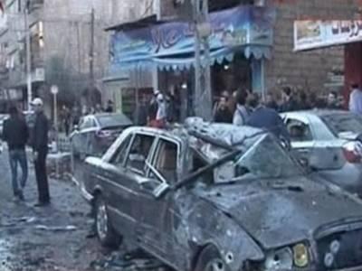 شام: دوکاربم دھماکوں کے نتیجے میں بیس افرادجاں بحق۔