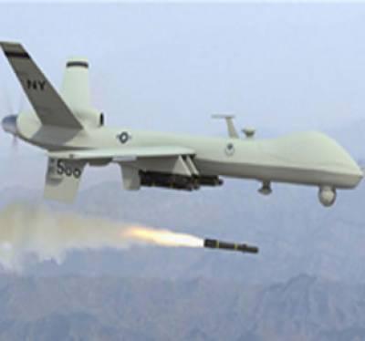 شمالی وزیر ستان میں امریکی جاسوس طیارے کے میزائل حملے میں چار افراد جاں بحق ہوگئے ہیں