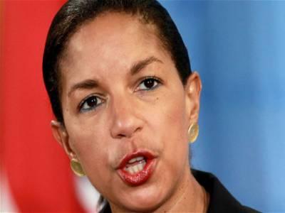 اقوام متحدہ میں امریکی سفیر سوزن رائس نے وزارت خارجہ کا قلمبدان سنبھالنےسےانکارکردیا۔