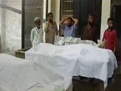 کراچی میں ٹارگٹ کلنگ کا سلسلہ جاری ہےمختلد واقعات میں تین افراد کو موت کے گھاٹ اتاردیا گیا جبکہ تین افراد کی لاشیں بھی برآمد۔