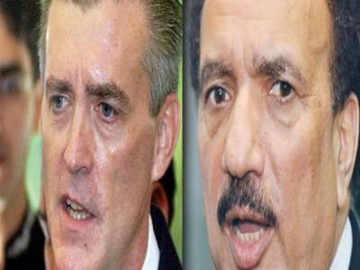 وزیرداخلہ رحمان ملک سے پاکستان میں تعینات امریکی سفیررچرڈ اولسن نے ملاقات کی جس میں دوطرفہ تعاون سمیت مختلف امورپرتبادلہ خیال کیا گیا۔