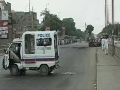 کراچی میں ٹارگٹ کلنگ اور بدامنی کا سلسلہ بدستور جاری. آج بھی شہر کے مختلف علاقوں میں فائرنگ اور پر تشدد واقعات کے نتیجے میں پولیس افسر سمیت پانچ افراد جاں بحق۔