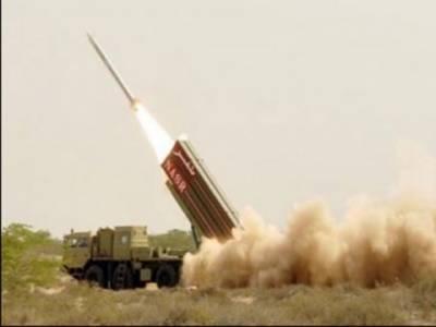 پاکستان نے زمین سے زمین تک مار کرنے والے میزائل حتف نائن نصر کا کامیاب تجربہ کرلیا، میزائل ساٹھ کلومیٹر تک ہدف کو نشانہ بنانے کی صلاحیت رکھتا ہے۔