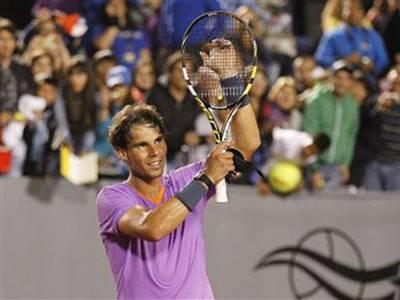 چلی اوپن ٹینس ٹورنامنٹ کے فائنل میں ارجنٹائن کے ہوریشیو زیبالوس سابق عالمی نمبر ایک سپینش سٹاررافیل نڈال کاخواب چکناچور کرکے ٹائٹل لےاڑے،،،