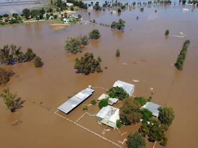 آسٹریلیا کی ریاست نیوساؤتھ ویلز کوسیلاب اورطوفان میں بدترین تباہی کے باعث آفت زدہ قرار دے دیا گیا