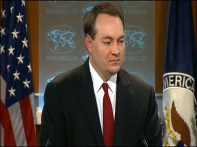 امریکہ نے پاک ایران گیس پائپ لائن منصوبے کی کھل کرمخالفت شروع کردی، پاکستان ایسی سرگرمیوں سے گریزکرے جوپابندیوں کی زد میں آسکتی ہوں۔ سٹیٹ ڈیپارٹمنٹ