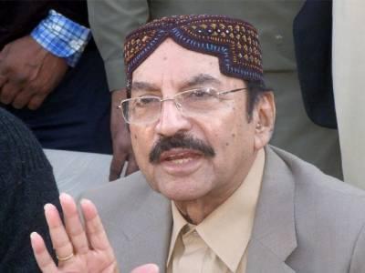 وزیراعلیٰ سندھ سید قائم علی شاہ نے سانحہ عباس ٹاؤن میں ملوث ملزمان کی گرفتاری پرپچاس لاکھ روپے انعام کا اعلان کردیا.