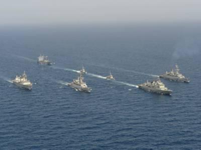 پانچ روزہ مشترکہ بحری مشقوں میں حصہ لینے کے لیے چینی دستہ پاکستان پہنچ گیا.