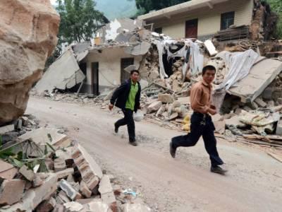چین میں زلزلےنےتباہی مچا دی ،بارہ ہزار افراد گھرچھوڑنےپرمجبورہوگئے،متاثرہ علاقےمیں ایمرجنسی نافذ کردی گئی