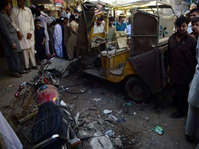 کراچی:لانڈھی میں کیبل آپریٹرکےدفترکےباہر دھماکہ, پولیس اہلکارسمیت3افرادجاں بحق