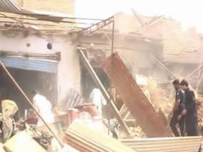 بلوچستان علاقے ڈیرہ اللہ یار میں دھماکے کے نتیجے میں دس افراد جاں بحق, بیس سے زائد زخمی.