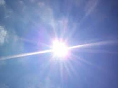 محکمہ موسمیات کے مطابق ملک کے بیشتر علاقوں میں موسم خشک اور گرم رہے گا.