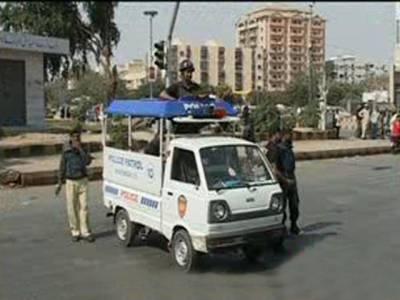 کراچی میں فائرنگ اورپرتشدد واقعات کے نتیجے میں پولیس اہلکارسمیت چارافراد جاں بحق ہوگئے.