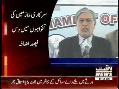 Finance Minister Increase 10% Salaries of Government Workers 15 June 2013