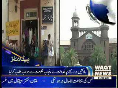 Waqtnews Headlines 11:00 AM 28 June 2013