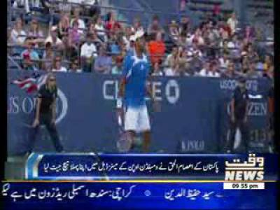 Aisam-ul-Haq Won His 1st Match in Wimbledon Championship 27 June 2013