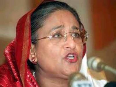 عبدالقادر ملا کی پھانسی کیخلاف قومی اسمبلی میں قرارداد کے معاملے پر حسینہ واجد نے پاکستان کیخلاف زہر اُگلنا شروع کردیا، کہتی ہیں کہ پاکستان کے حمایتی کی بنگلادیش میں کوئی جگہ نہیں۔