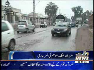 Weather News Package 25 January 2014