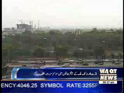 Weather News Package 29 January 2014