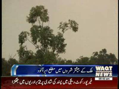 Weather News Package 07 May 2014