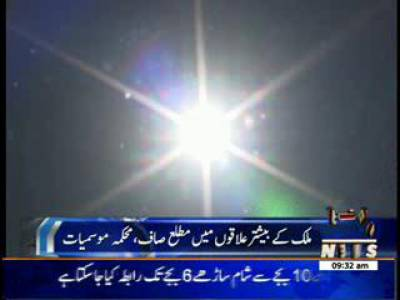 Weather News Package 22 May 2014