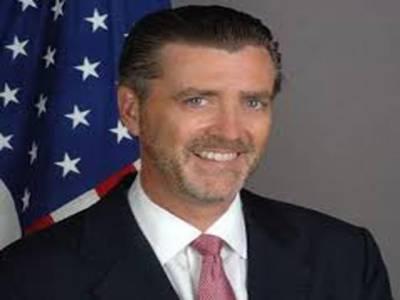 امریکی سفیر رچرڈ اولسن نے کہا ہے کہ پُرامن افغانستان، پاکستان اور امریکا کا مشترکہ مقصد ہے دونوں ممالک مل کر پاک افغان سرحدی پٹی پر درپیش چیلنجز سے نمٹ سکتے ہیں