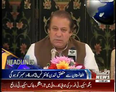 Waqtnews Headlines 11:00 AM 02 December 2014