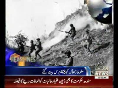 Waqtnews Headlines 11:00 AM 16 December 2014
