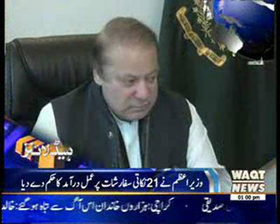 Waqtnews Headlines 01:00 PM 28 December 2014