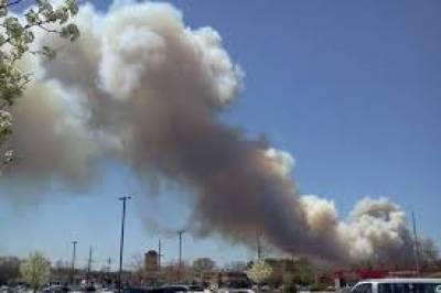 امریکی ریاست نیو جرسی میں ایک رہائشی اپارٹمنٹ کمپلیکس میں آگ لگ گئی،آگ کے باعث سینکڑوں افراد کو عمارت سے نکال لیا گیا