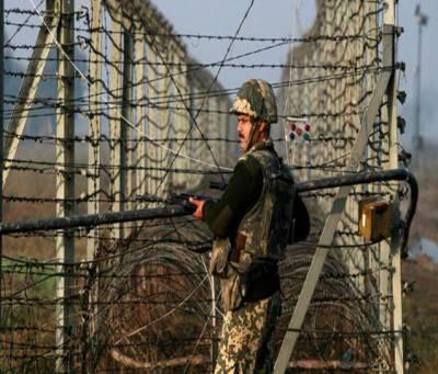 جنگی جنون میں مبتلا بھارتی فوج نے امریکی صدر کی نئی دہلی آمد پر سیالکوٹ ورکنگ باؤنڈری کے چار واہ اور بجوات سیکٹر پر بلااشتعال فائرنگ کی، چناب رینجرز کے بھرپور جواب سے دشمن کی بندوقیں خاموش ہوگئیں
