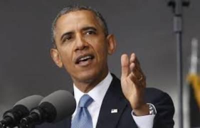 اوباما نے روسی صدر ولادیمیر پوٹن کو متنبہ کیا ہے کہ اگر روس نے یوکرین میں 'جارحانہ اقدامات' بند نہ کیے تواسے بڑی قیمت چکانا ہوگی