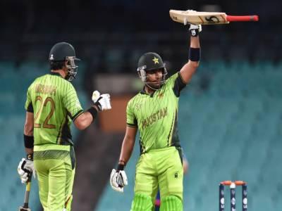 شاہینوں کی فتوحات کا سلسلہ جاری ، قومی ٹیم نے دوسرے وارم اپ میں انگلینڈ کو چار وکٹ سے دھول چٹا دی