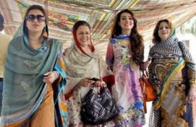 پنجاب اسمبلی کی خواتی بھی اپنی ٹیم کی فتح کے لیے پرعزم