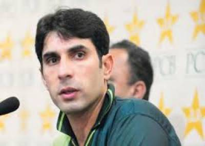 پاکستان اور بھارت کے درمیان ٹاکرے میں دونوں ٹیموں کے کپتان جیت کیلئے پر عزم:مصباح الحق