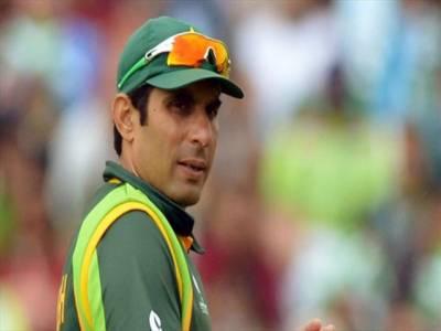مینجمنٹ کاکوئی قصورنہیں،کھلاڑیوں کوکارکردگی کامظاہرہ کرناہوگا: مصباح الحق