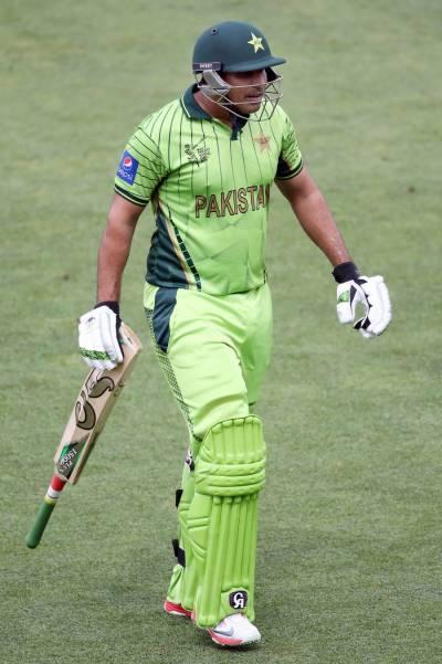 پاکستانی اوپنر ناصر جمشید کا بلا رنز اگلنا بھول گیا