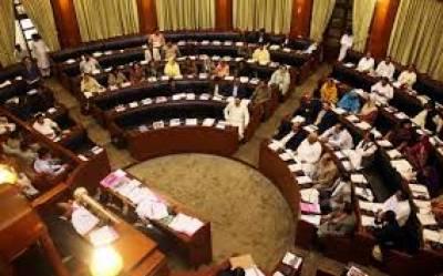 سندھ میں سینٹ الیکشن کیلئے رائے شماری کا عمل جاری