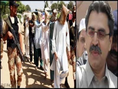 انسداد دہشت گردی کی عدالت نے نائن زیرو سے گرفتار عامر خان سمیت 28 ملزمان کو 90 روز کیلئے رینجرز کے حوالے کر دیا