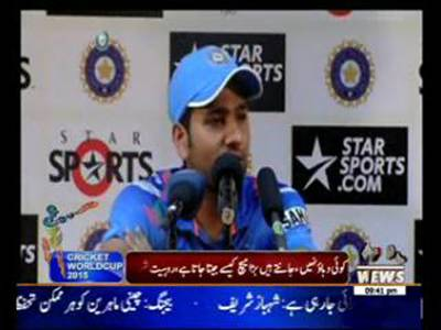 Sports Segment ICC Cricket World Cup 25 March 2015