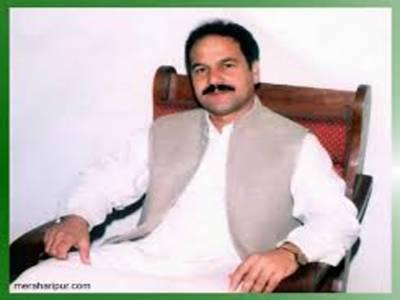 خیبر پی کے گوہر نواز خان کے گھر پر چھاپے کے دوران بھاری مقدارمیں اسلحہ برآمد , ایم پی اے گرفتار