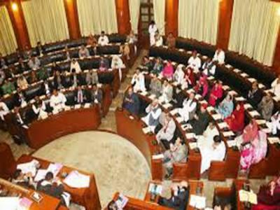 سندھ اسمبلی کا اجلاس آج بھی مچھلی منڈٰی کا منظر پیش کرتا رہا