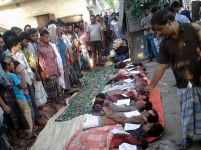 بنگلہ دیش میں مسافر بس موڑ کاٹتے ہوئے گہری کھائی میں گر گئی 25افراد ہلاک متعدد زخمی