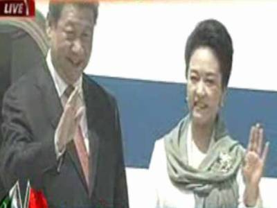 چین اور پاکستان کی دوستی ہمالیہ سے بلند اور گہرے سمندروں سے بھی گہری ہے,صدر کی آمد پر شاہراہ کو دلہن کی طرح سجایا گیا