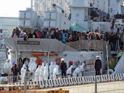 لیبیاکی حدود میں بحیرہ روم میں تارکین وطن کی کشتی ڈوب گئی، جس کے نتیجے میں650افرا د ہلاک