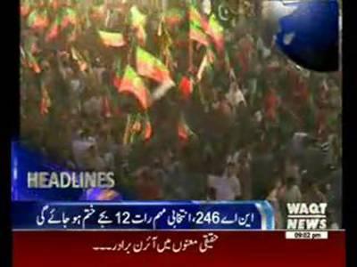 Waqtnews Headlines 09:00 PM 21 April 2015