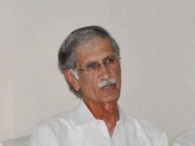 جادوگر نہیں بیٹھے بٹھائے نقصانات کا تخمینہ لگا دوں:پرویز خٹک